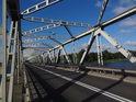 Silniční most přes Odru u města Nowa Sól.
