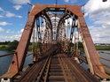Železniční most přes Odru  Czernica.
