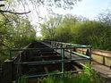 Torzo železničního mostu ve Studénce.